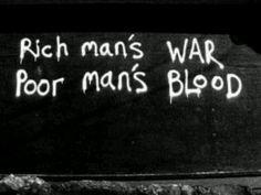 "Sad truth.  Google ""war profiteering"".  Blood sucking leeches promoting pain and destruction."