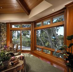 Keisker & Wiggle Architects - contemporary - windows - seattle - Quantum Windows & Doors, Inc. House Windows, Windows And Doors, Houzz Com, Contemporary Windows, Design Inspiration, Flooring, Rustic, Living Room, Architecture