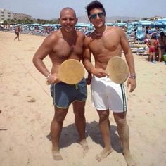 Piero Beach Paddle Ball  2014
