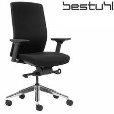 Bestuhl J2 Black Fabric Task Chair  www.officefurnitureonline.co.uk