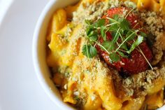 Gluten-Free Vegan Mac-n-Cheese from Six Main Restaurant