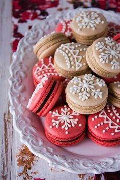 Christmas cookies decor idea