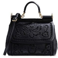 Dolce & Gabbana Medium Leather Bag ($2,315) ❤ liked on Polyvore featuring bags, handbags, shoulder bags, purses, borse, bolsas, black, handbags shoulder bags, leather hand bags and man bag