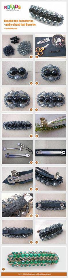 Beaded Hair Accessories - Make A Bead Hair Barrette – Nbeads