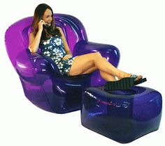 90's Fads: Blow Up Furniture | I was a 90's kid