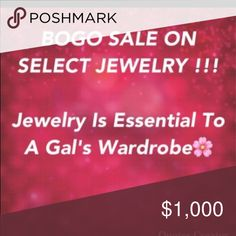 Free day shipping for a limited time. Description: BOGO Off Jewelry. Color Shampoo, Bogo Sale, Jewelry Accessories, Things To Sell, Jewelry Findings