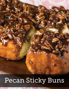 Pecan Pie for breakfast? Yum! Make this awesome Pecan Sticky Bun recipe for breakfast during the holidays, and get the festivity started the moment the day begins!