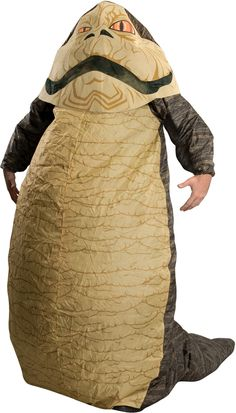 Rubie's Boys Star Wars - Jabba The Hutt Inflatable Costume. Make this Halloween a great one in this Star Wars Jabba the Hutt inflatable costume! Featuring the costume with an attached headpiece and tail, they'll love trick-or-treating in this fun outfit. Costumes For Sale, Cool Costumes, Adult Costumes, Halloween Costumes, Alien Costumes, Villain Costumes, Holiday Costumes, Costumes Kids, Pirate Costumes