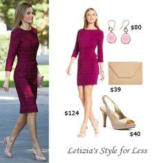 Sep 2014 - Shop Queen Letizia's style for less