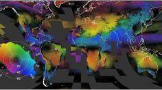 Mapa: Las nubes revelan dónde viven las especies amenazadas - http://verdenoticias.org/index.php/blog-noticias-diversidad-biologica/220-mapa-las-nubes-revelan-donde-viven-las-especies-amenazadas