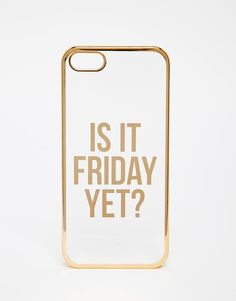 ASOS | ASOS Is It Friday Yet iPhone 6 Case at ASOS