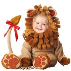 Baby Lion Costumes - In Character Lion -Super Deluxe - Size 12-18 Months -6003