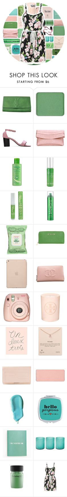 """YOINS"" by xgracieeee ❤ liked on Polyvore featuring shu uemura, Guide London, Simple, Kat Burki, TheBalm, blow, Burt's Bees, Michael Kors, Black Apple and Chanel"