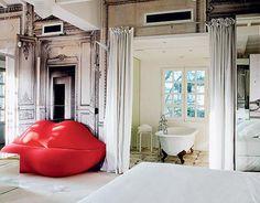 The Gilded Lounge Suite at La Maison des Champs Elysees by Maison Martin Margiela – Paris, France #design