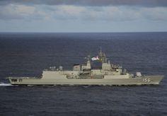 Royal Australian Navy's 'Purple Pony',Frigate Helicopter (FFH) HMAS Toowoomba.