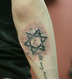 Tatuaje Tatto Estrella De David Tattoo Pinterest Tattoos