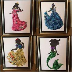 Craft, crochê, artesanatos variados,tudo que a mulher moderna gosta para descansar a mente e facili Crafts For Teens To Make, Crafts To Sell, Easy Crafts, Diy And Crafts, Arts And Crafts, Stick Crafts, Creative Crafts, Disney Diy, Disney Crafts