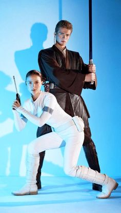 Anakin and Padme.