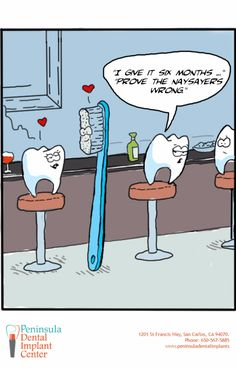 Establish a long, healthy relationship between your teeth and your toothbrush. Good oral hygiene should last a lifetime. #funwithdental #dentaltips