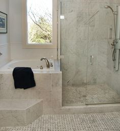 soaking tub, Japanese tub, tub steps
