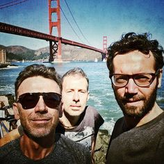 #BennyBenassi Benny Benassi: Bike day in #sanfrancisco with the crew!! #bbcrew @framedealer @jerry_jrr #danceaholictour
