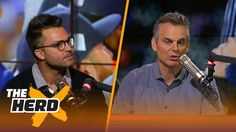 Nick Swisher and Colin Cowherd react to the Houston Astros winning the 2017 World Series | THE HERD - YouTube