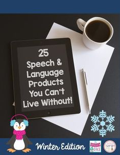 Here's a great FREE resource for locating some AMAZING winter-themed speech & language materials.