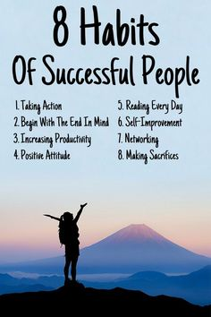 Habits Of Successful People Did you know that successful people have a lot in common? Do you ever wonder what the habits of the successful are? Check out these 8 habits of successful people, and make your dreams a reality! Motivational Videos For Success, Success Quotes, Positive People, Positive Attitude, Successful People Quotes, Famous Failures, Self Development Books, Small Business Start Up, Work Success