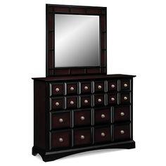 Landon Bedroom Dresser & Mirror | Furniture.com