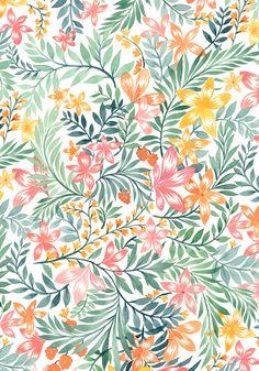 Vikki Chu, watercolor floral