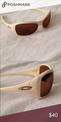 82e4801227ec6 Oakley glasses cream and amber lenses Oakley Women s glasses will include a  soft bag.worn only few times Oakley Accessories Glasses