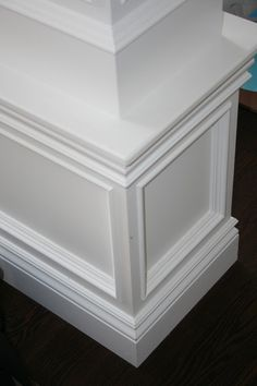 Diamins shaped trim work design | Ideas for Trim | Pinterest ...