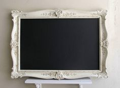 Large CHALKBOARD French Country Decor Shabby Chic by ShugabeeLane, $279.00