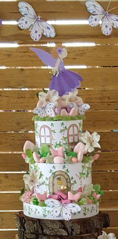 #tartadechuches #tartadegolosinas #tartahadas #tartadecumpleaños Poke Cakes, Lava Cakes, Cupcake Cakes, Candy Birthday Cakes, Birthday Cake Girls, Fudge Cake, Brownie Cake, Custard Cake, Ballerina Birthday