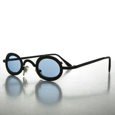 189168c203 Victorian Steampunk Oval Vintage Spectacle Sunglass with Color Lenses NOS  -DESERT Color Lenses