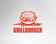 burger concept logo - Google Search
