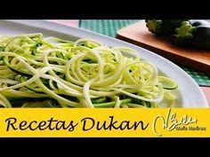 Pasta Dukan: Espagueti de Calabacin  / Zucchini Pasta /  Macarrão de abobrinha