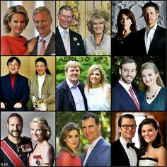 R4R Photo Spotlight: Confirmed Inauguration Guests---Updated 4/26/13** 4 days to go!  The Duke & Duchess of Brabant- Belgium...The Prince of Wales & Duchess of Cornwall...The Crown Prince & Princess of Denmark...The Crown Prince & Princess of Japan...The Hereditary Grand Duke & Grand Duchess of Luxembourg...The Crown Prince & Princess of Norway..  The Prince & Princess of Asturias- Spain..The Crown Princess of Sweden & Prince Daniel..The Prince of Monaco ..