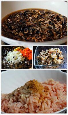 lături Meat Recipes, Cooking Recipes, Risotto, Salad, Ethnic Recipes, Bacon, Illustration, Savory Snacks, Recipies