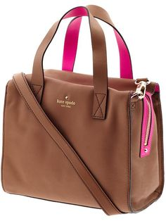 Kate Spade perfection. Look how soft that leather is!