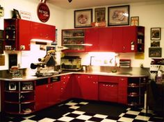 Metal Kitchen Cabinets Daring To Dream Garage Shed House