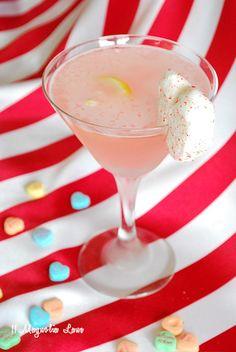 Valentine's Pink Lemonade Martini...YUM!