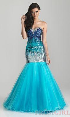 turquoise sweet mermaid dress