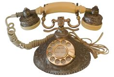 Baroque Rotary Dial Telephone
