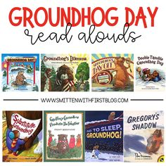 Groundhog Day activities and read alouds for Kindergarten, 1st, 2nd grade
