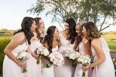 Trilogy at Vistancia | Bride and her bridesmaids share a laugh together | www.weddingsatvistancia.com | Drew Brashler Photography