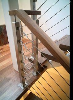 Elegant Staircase Railing Hardware