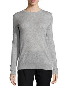 Cashmere Knit Crewneck Sweater