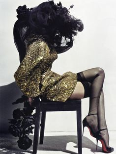 Lily Donaldson in Erotica for Vogue Paris, May 2010 Shot by Steven Klein Styled by Carine Roitfeld