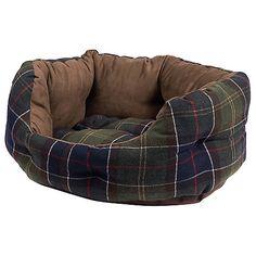 Buy Barbour Luxury Dog Bed Online at johnlewis.com